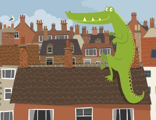 Crocodile on the Roof
